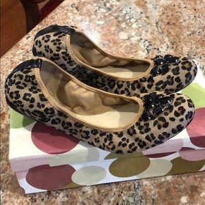 Brand New Ellen Tracy Leopard Flats
